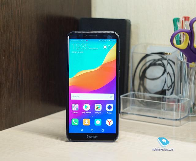 Обзор смартфона Honor 7A Pro (AUM-L29)