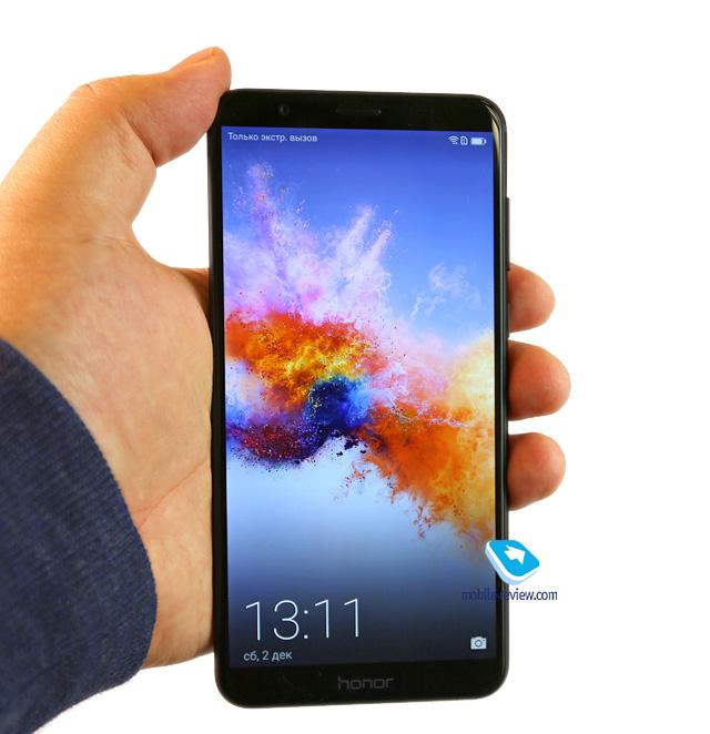 Обзор смартфона Honor 7x (BND-L21)
