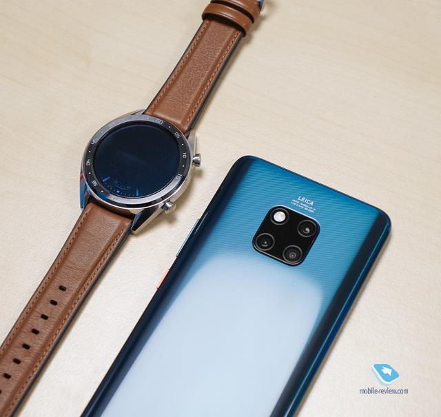 Первый взгляд на Huawei Mate 20/20 Pro и часы Watch GT