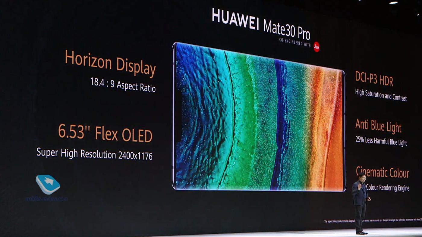 Первый взгляд на Huawei Mate 30/30 Pro