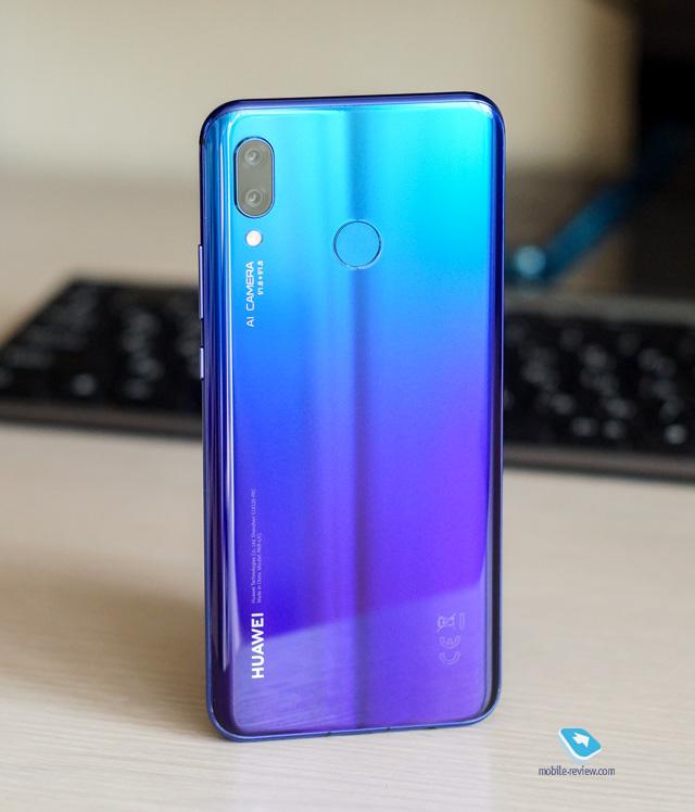 Mobile-review com Обзор смартфона Huawei nova 3 (PAR-LX1)