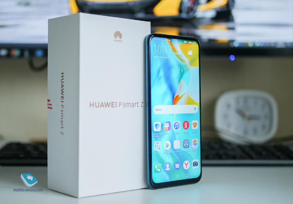 Обзор смартфона Huawei P smart Z