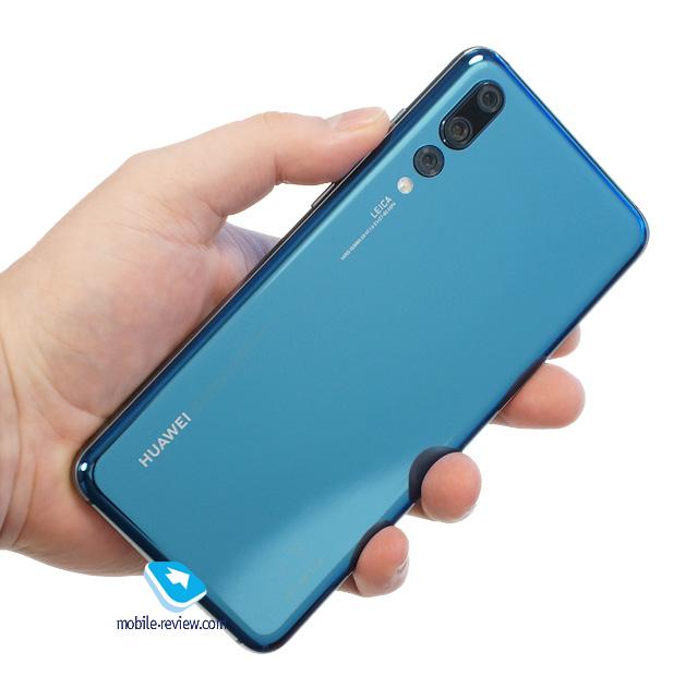 Первый взгляд на камерофон Huawei P20 Pro