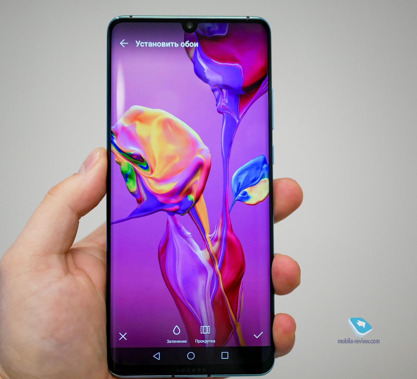 Первый взгляд на Huawei P30 и P30 Pro