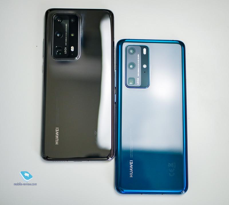 Сравнение Huawei P40 и P40 Pro Plus