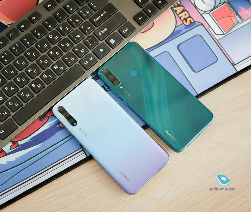 Обзор-сравнение Huawei Y8p и Y6p