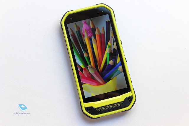 Обзор защищенного смартфона Kyocera Torque G03