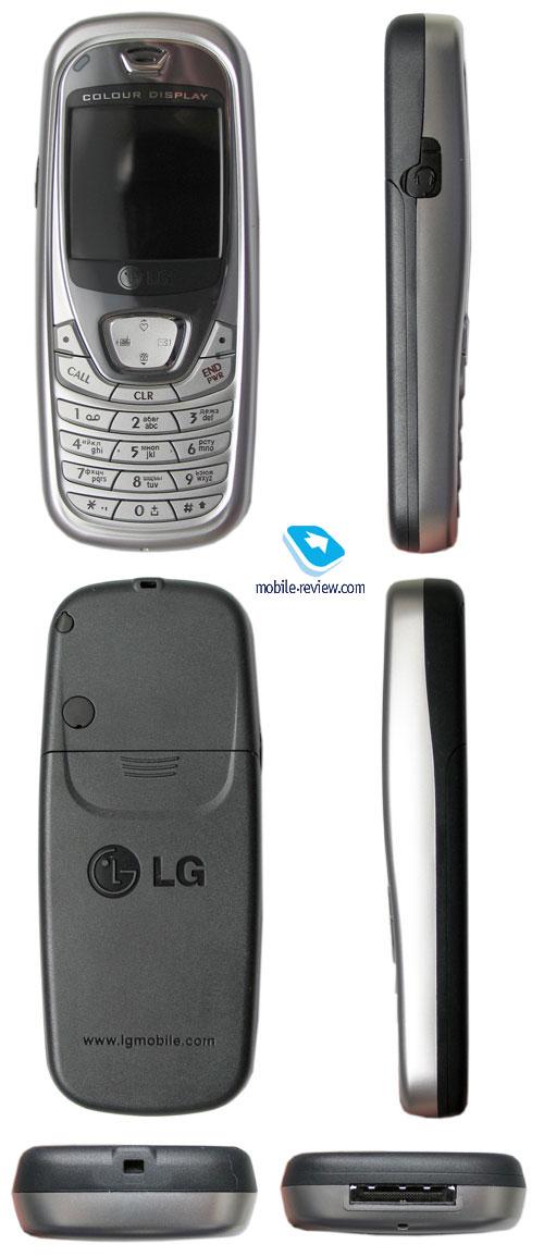 Обзор GSM-телефона LG B2000.
