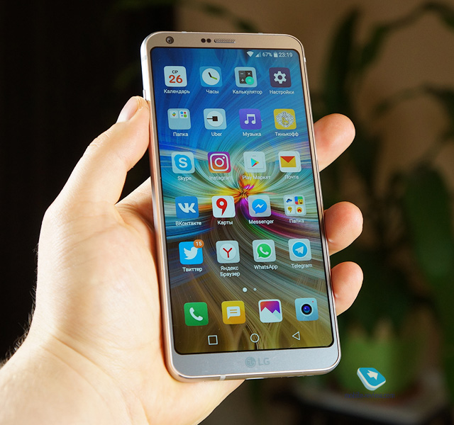 Обзор флагманского смартфона LG G6 (H870DS)