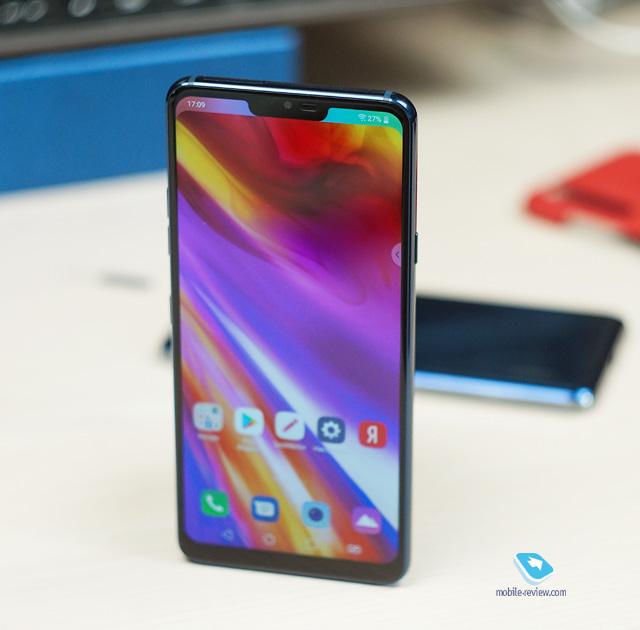 Mobile-review com Обзор флагмана LG G7 ThinQ