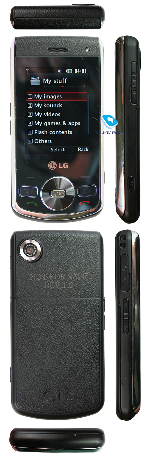 Цветовая схема lg ke800