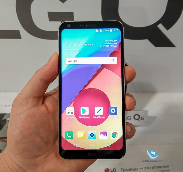 Знакомство с LG Q6α