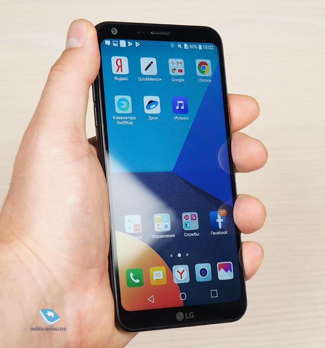 Обзор смартфона LG Q6α