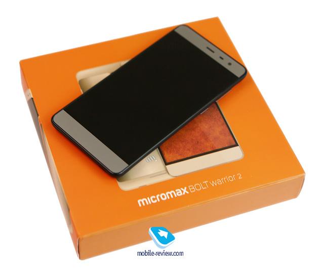 Обзор смартфона Micromax BOLT Warrior 2 (Q4202)