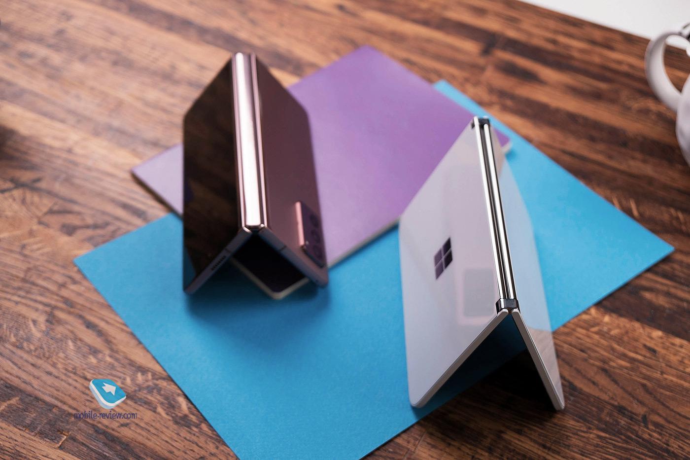 Обзор необычного смартфона - Microsoft Surface Duo