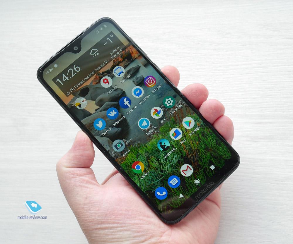 Обзор смартфона Motorola Moto G7