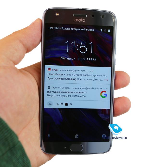 Обзор смартфона Motorola Moto X4