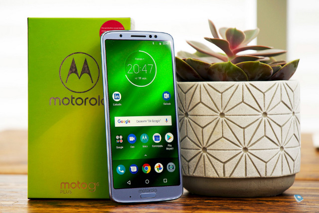 Обзор Android-смартфона Motorola G6 Plus (XT1926)