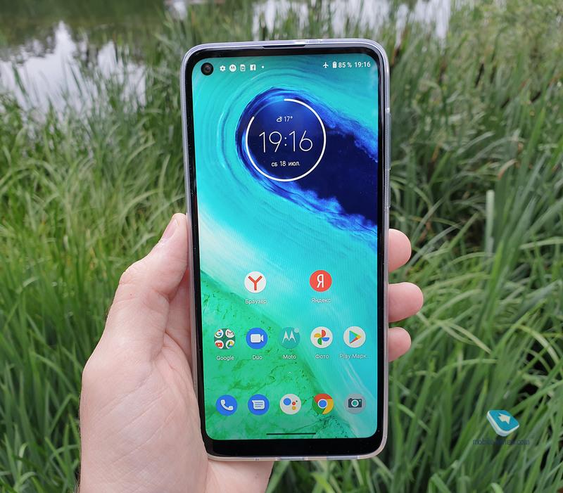 Обзор Motorola Moto G8 за 11 990 рублей