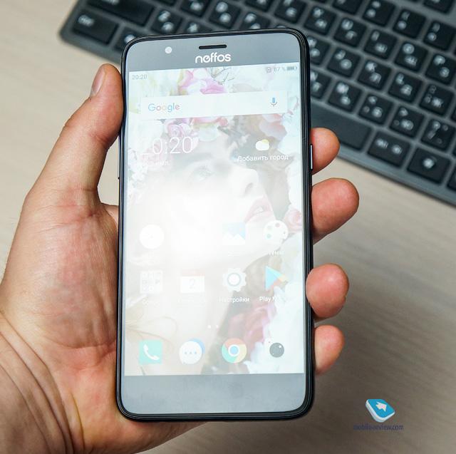 Обзор смартфона TP-Link Neffos N1