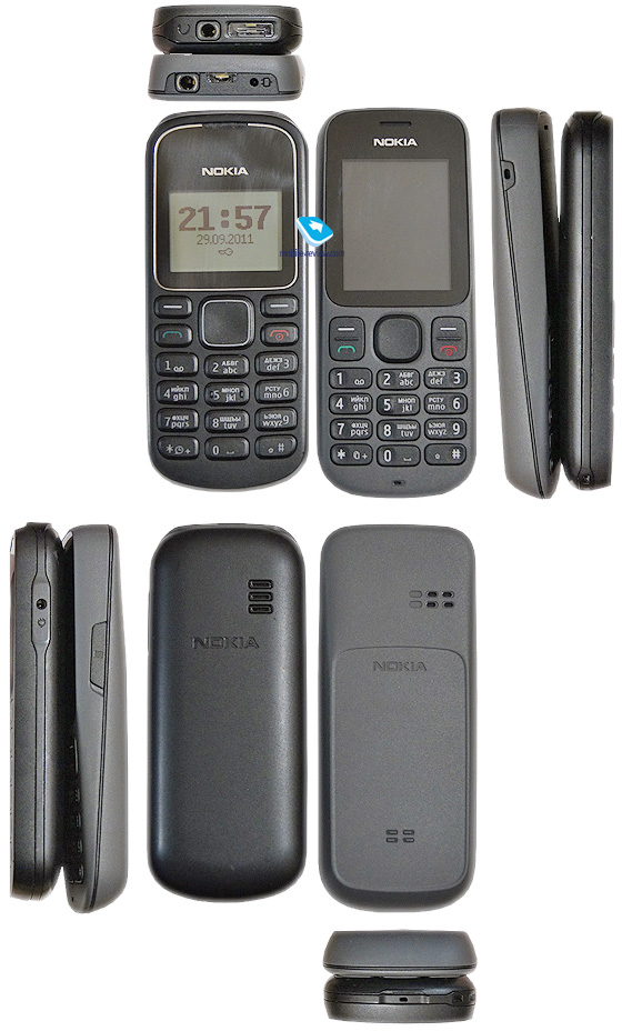 По размерам Nokia 101 - почти