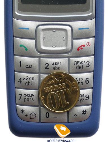 Обзор GSM-телефона Nokia 1110