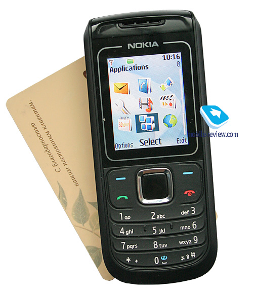 Размер телефона – 108х46х15 мм