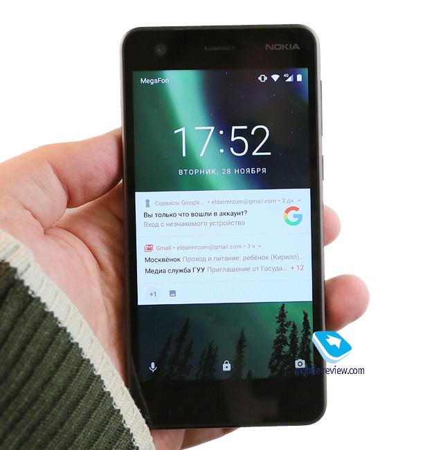 Обзор смартфона Nokia 2 (TA-1029)