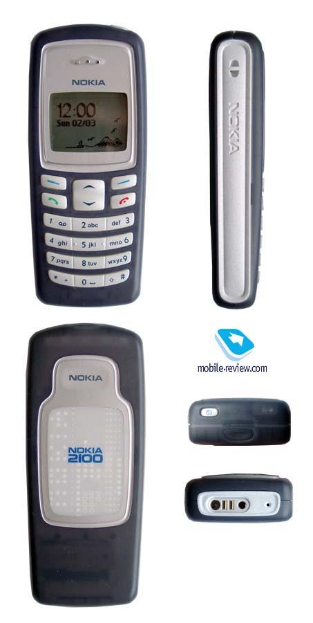 Обзор GSM-телефона Nokia 2100