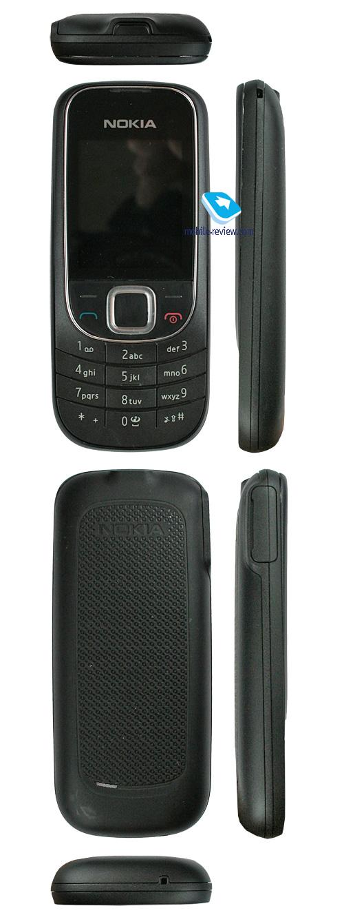 На задней стороне Nokia 2330