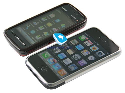 Nokia презентовала аналог iPhone на платформе S60
