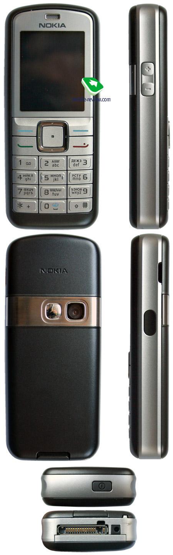совпадают с Nokia 6080.