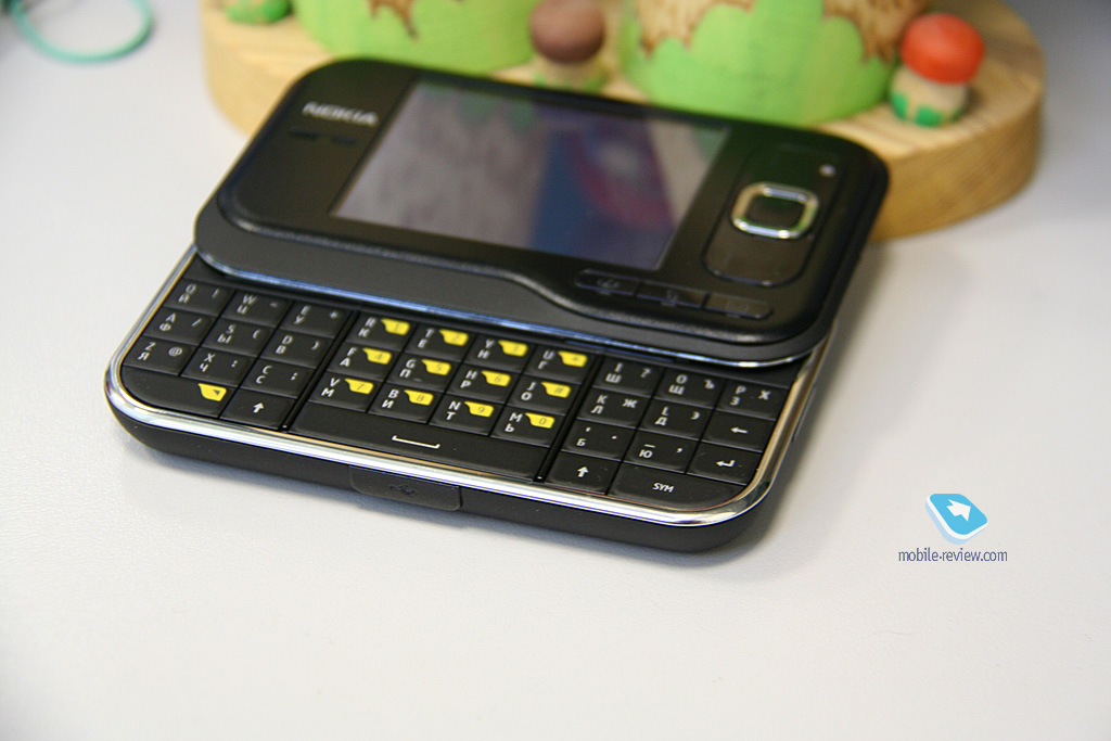 where my iphone mobile review обзор gsm umts смартфона nokia 6760 slide 6760