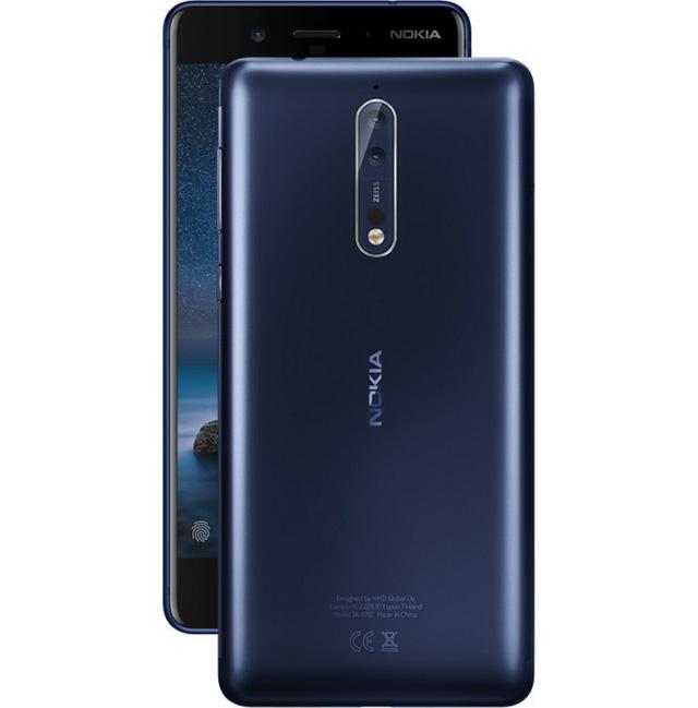 Первый взгляд на Nokia 8