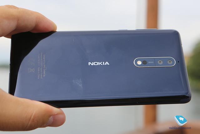 Обзор Android-смартфона Nokia 8 (TA-1004)