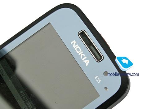 Mobile-review.com Preview of GSM/UMTS-smartphone Nokia E55