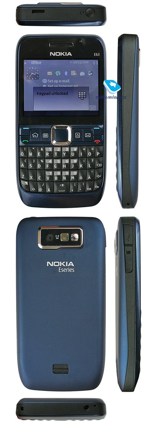 Mobile-review com Review of GSM/UMTS-smartphone Nokia E63