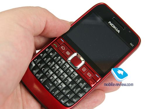 Mobile-review.com Обзор GSM/UMTS-смартфона Nokia E63.