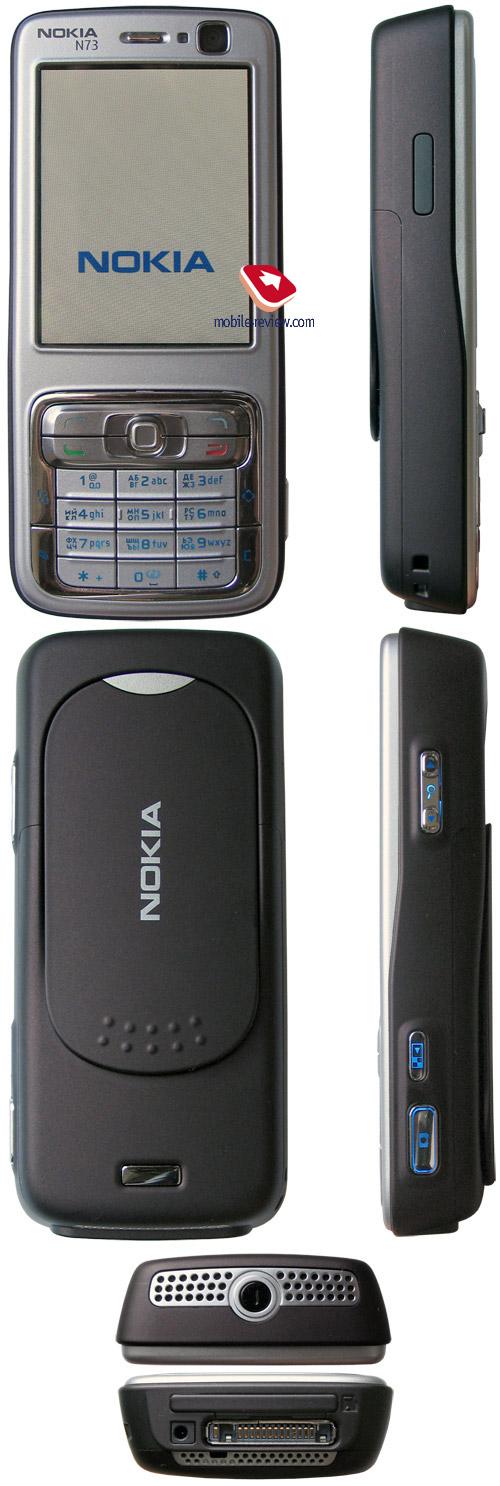 Mobile-review com Обзор GSM/UMTS-смартфона Nokia N73