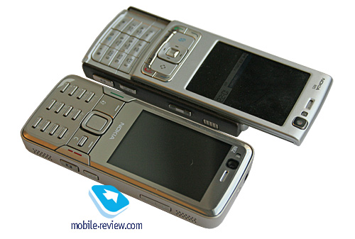 n82 018 Nokia N82 And Sony Ericsson K850i a Close Look