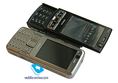 n82 020 Nokia N82 And Sony Ericsson K850i a Close Look