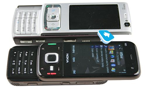 Nokia N85 الجديد Compare06