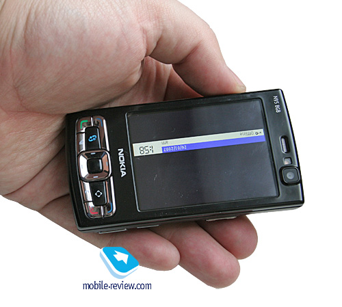 Mobile-review com Review of GSM/UMTS-smartphone Nokia N95 8Gb