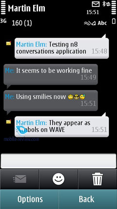 Mobile-review com Symbian^3 – Main Applications and Features