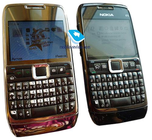 Китайский вариант Nokia E71 – подделка без имени Nokia