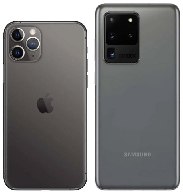Результаты слепого сравнения фото на Galaxy S20Ultra и iPhone 11 Pro