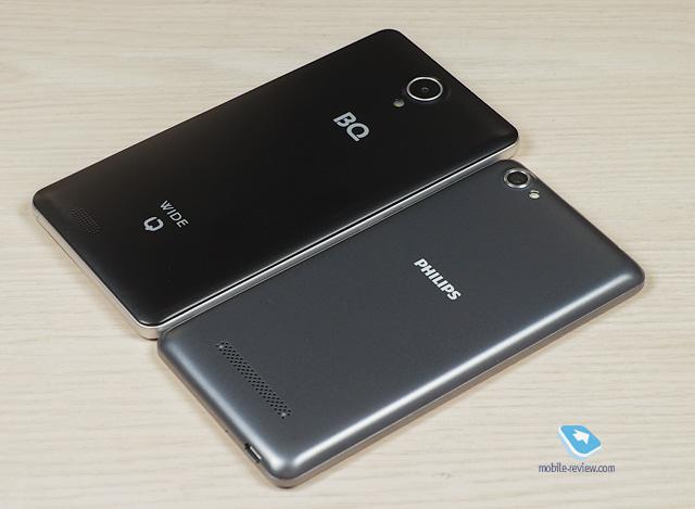 Philips S326 и BQ Wide