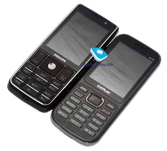 Philips Xenium X623 и Explay