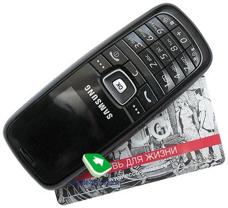 Обзор GSM-телефона Samsung SGH-C120