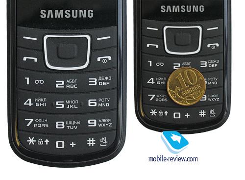 Samsung E1100: